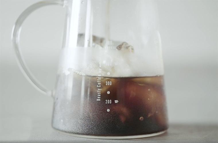 おいしいアイスコーヒーの淹れ方
